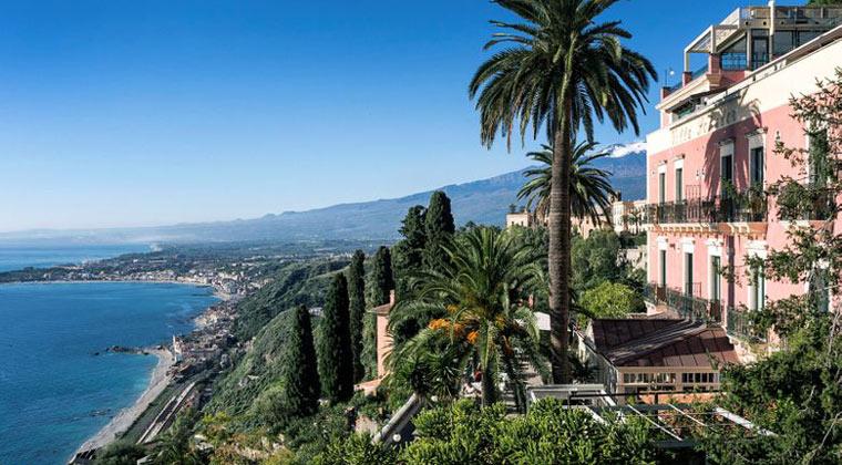 Italien Insel Sizilien Villa Schuler