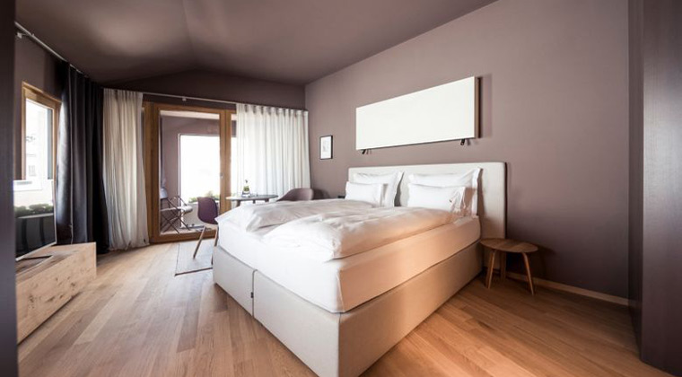 Italien Tirol Zimmerbeispiel Hotel Lamm