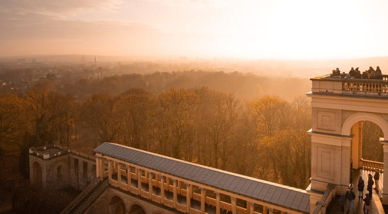 Kurzurlaub Potsdam der Belvedere Aussichtspunkt