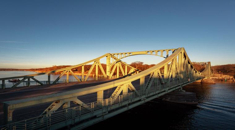 Kurzurlaub Potsdam Die Glienicker Brücke
