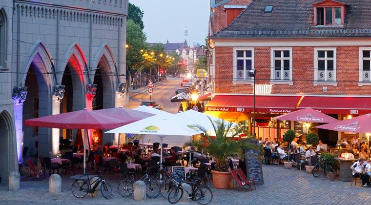 Kurzurlaub Potsdam Nauener Tor Cafe Heider