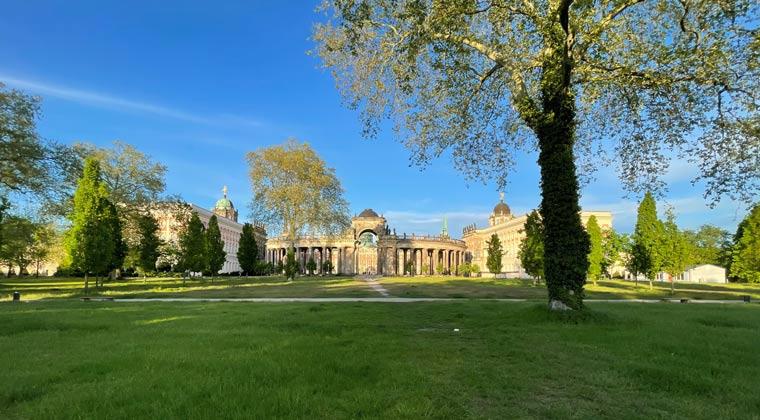 Kurzurlaub Potsdam Neues Palais im Park Sanssouci