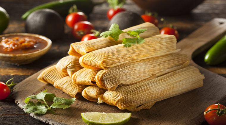 Teiggericht Tamales