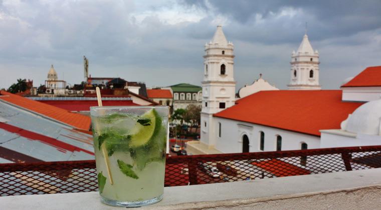 Panama Stadt Rooftop Bar