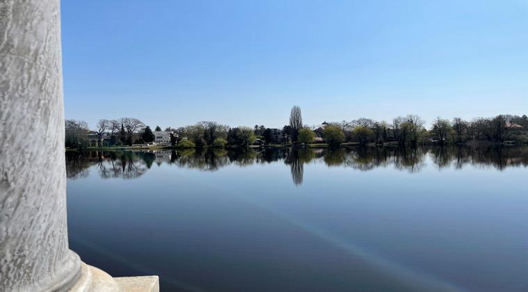 Heiliger See mit Blick auf die Berliner Vorstadt