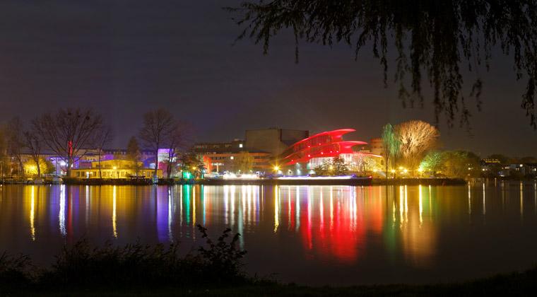 Die Schiffbauergasse in Potsdam