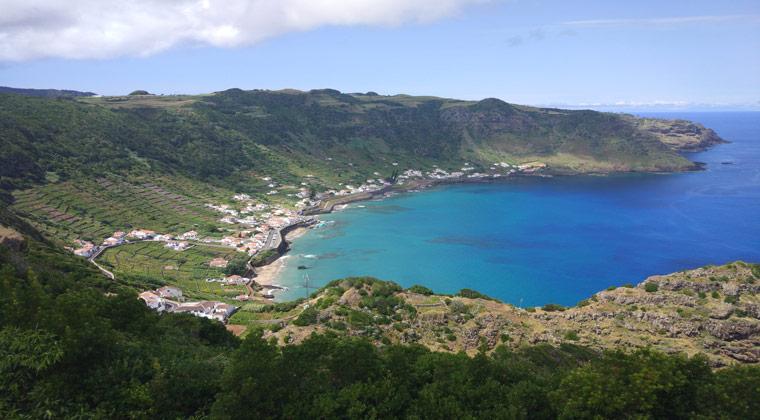 Insel Santa Maria Azoren São Lourenço