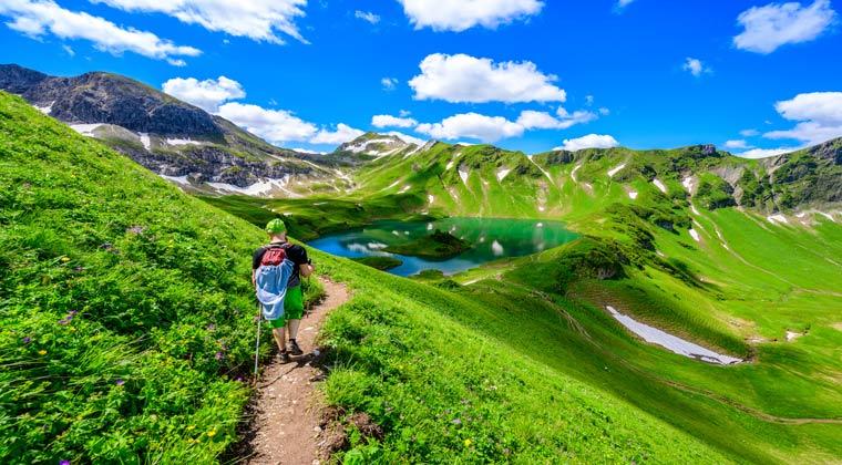 Alpensee in Bayern