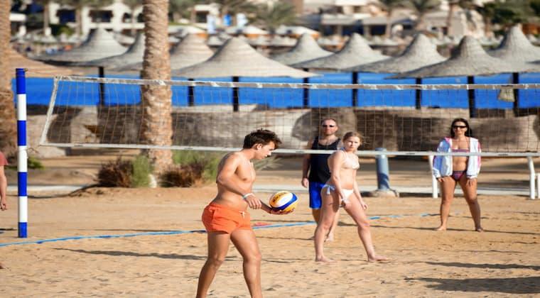 Beachvolleyball Steigenberger Coraya Ägypten