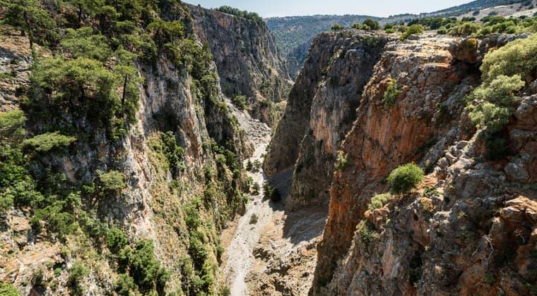 Aradena Schlucht Kreta Sehenswürdigkeiten