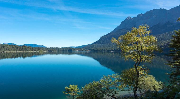 Bayern der schöne Eibsee