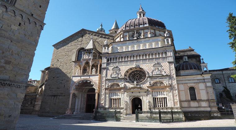 Bergamo Sehenswürdigkeiten Basilica Santa Maria Maggiore und die Kapelle
