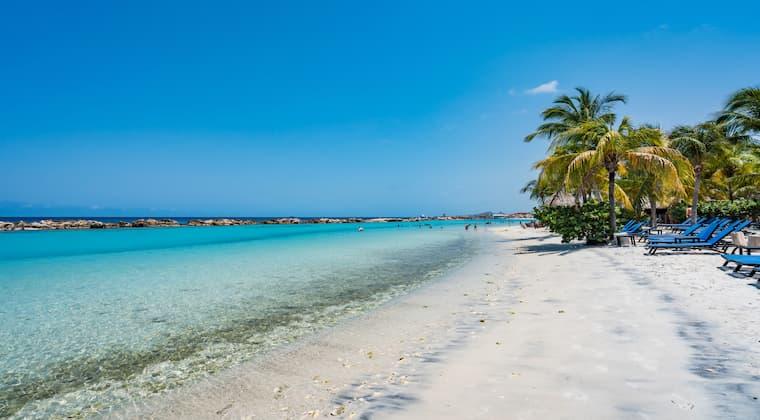 Schönste Strände Curacao Mambo Beach