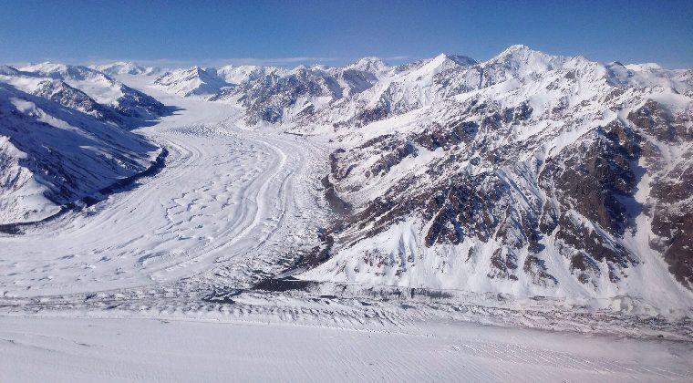 Kanada Kluane Berge und Schnee