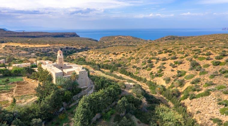 Sehenswürdigkeiten Kreta Kloster Toplou mit Kirche