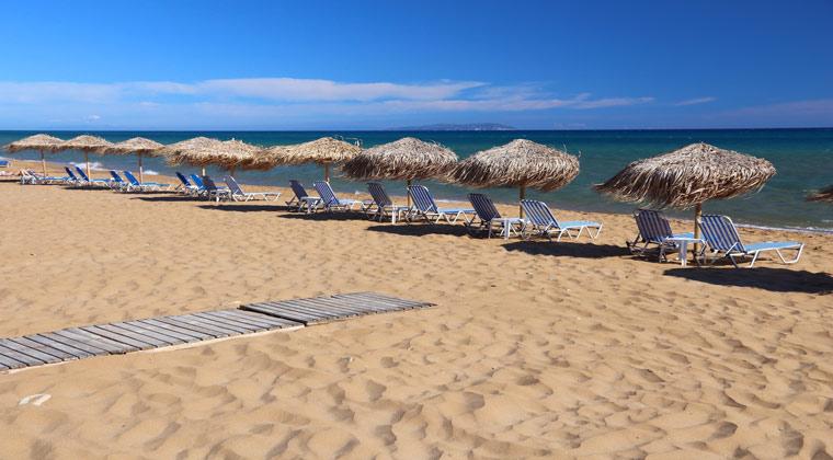 Korfu Strände Gardenos Beach