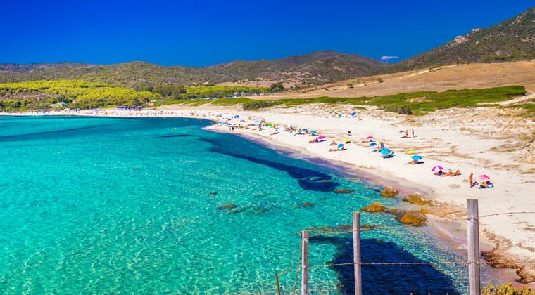 Capo di Feno Strand auf Korsika