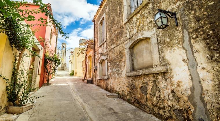 Alte Häuser in Archanes Kreta Sehenswürdigkeiten