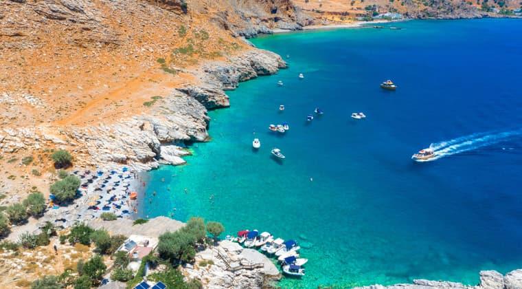 Kreta Marmara Strand Ardena Schlucht