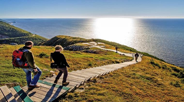Nationalparks Kanada Cape Breton Wanderweg