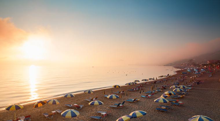 Korfu Strände Agios Gordios Beach