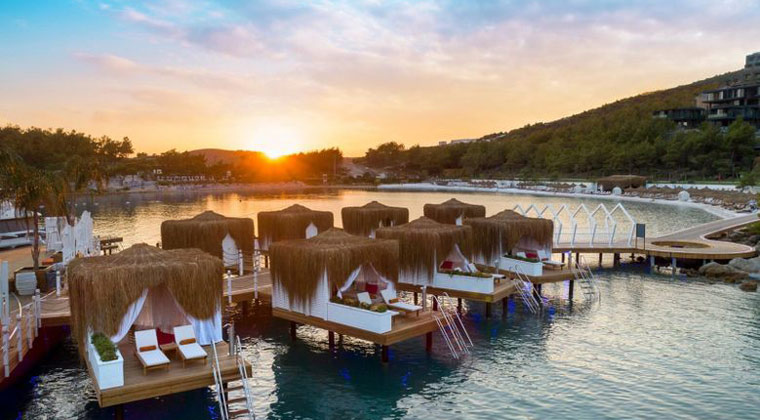 Türkei Hotel Lujo Bodrum Wasser und Meer