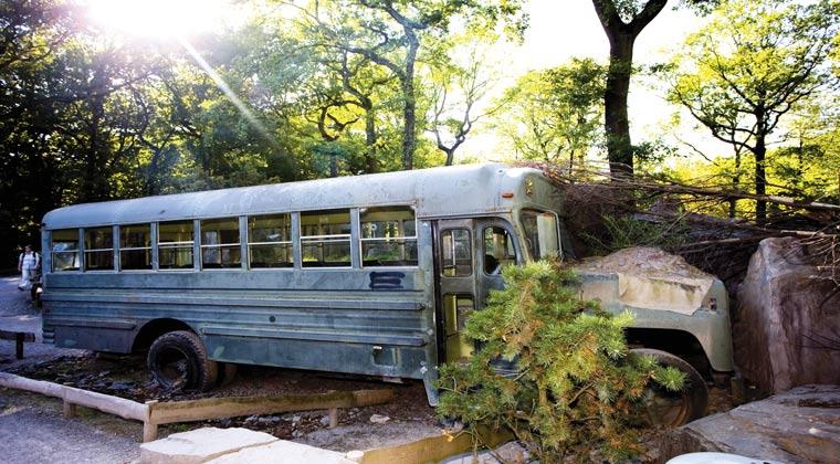 Gelsenkirchen Safari Bus in der ZOOM Erlebniswelt