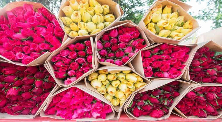 Ideen Junggesellenabschied Blumenstrauß