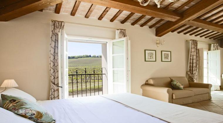 Borgo Conde Wine Resort Zimmerbeispiel