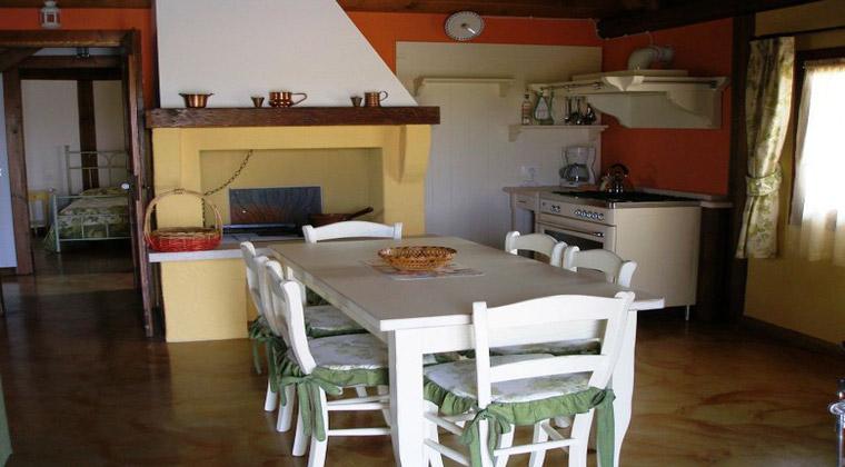 Wohnbeispiel Küche im Casanova Resort