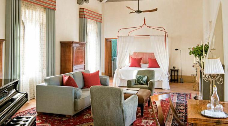 Wohnbeispiel Suite im Borgo Pignano in der Toskana