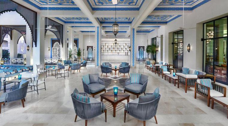 Luxushotel Ägypten Jaz Hotel die Lobby