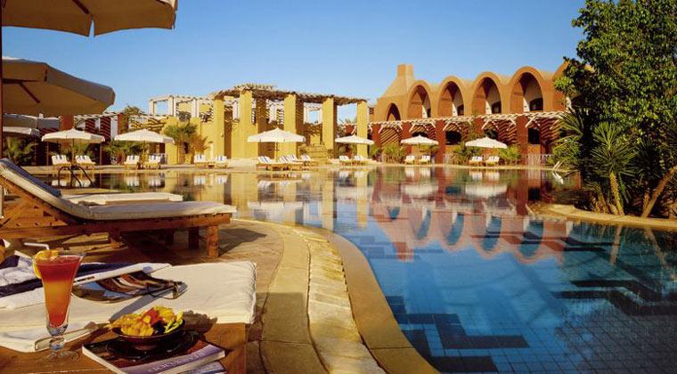 Luxushotel Ägypten Sheraton Miramar Pool