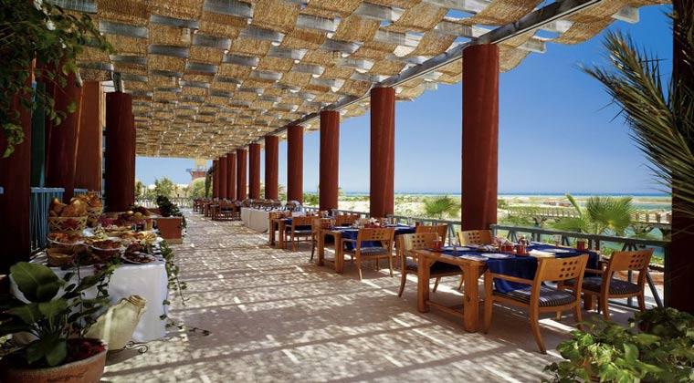 Luxushotel Ägypten Sheraton Miramar Restaurant