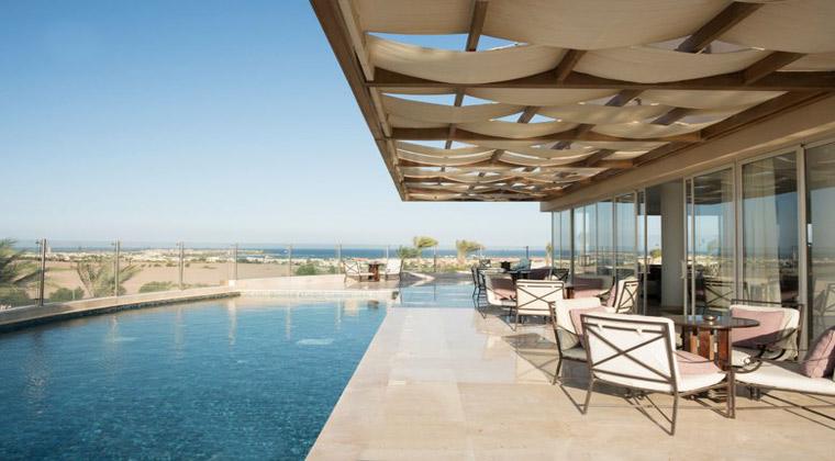 Luxushotel Ägypten Steigenberger Makadi der Poolbereich