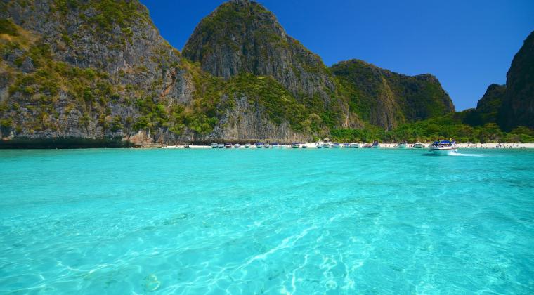Thailand Strand - Maya Bay auf Koh Phi Phi
