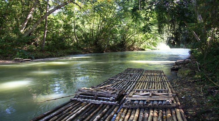 Jamaika Bambusfloßfahrt