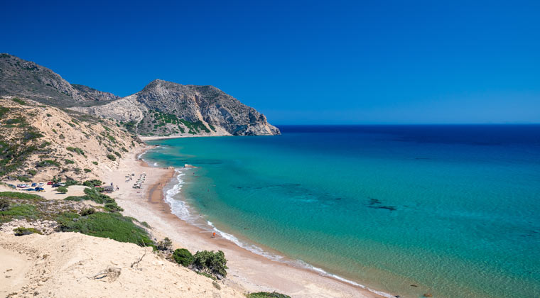 Kos Sehenswürdigkeiten der Cavo Paradiso Strand