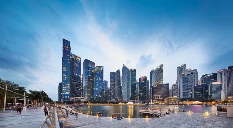 Singapur Geschäftsviertel CBD