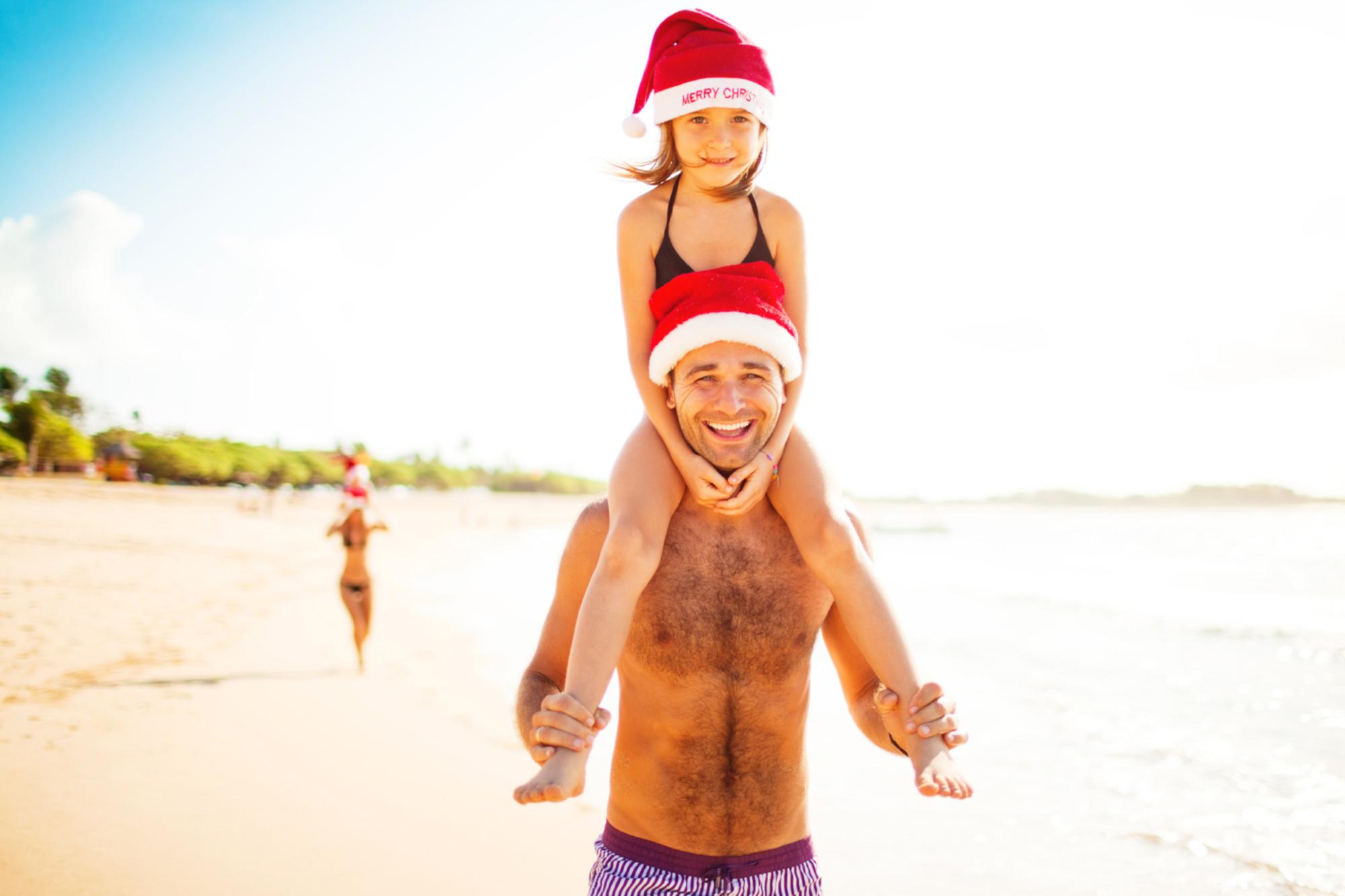 weihnachtsurlaub weihnachten am strand oder in den. Black Bedroom Furniture Sets. Home Design Ideas