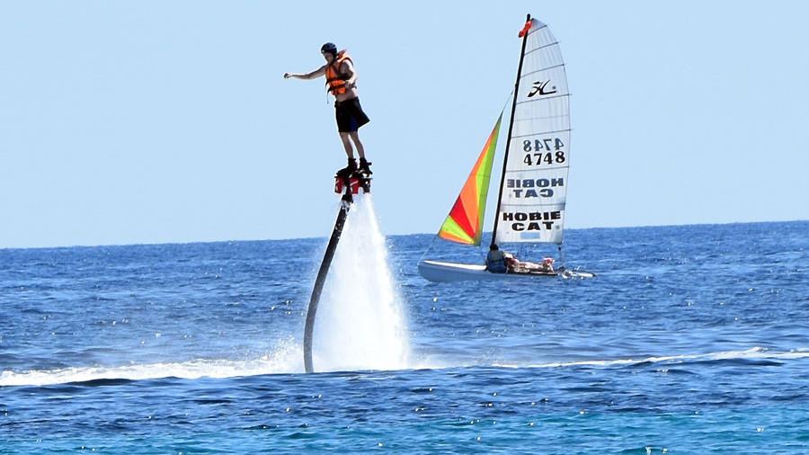 Flyboard Raúl Richter