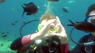 Annica und Jo tauchen ab in die Unterwasserwelt Zyperns