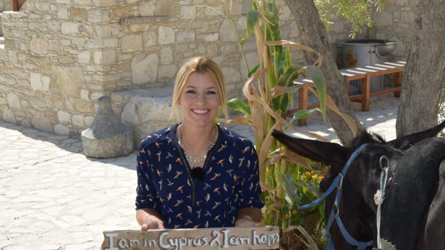 Annica Hansen liebt Zypern