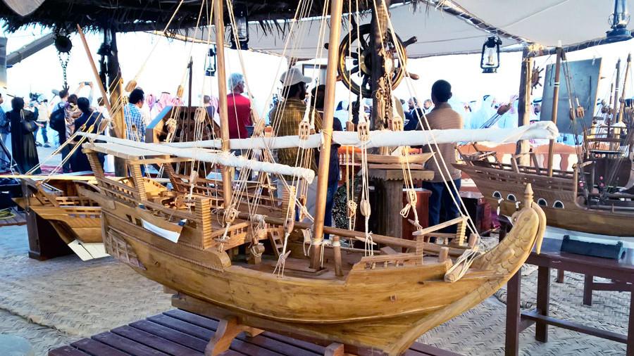 Dhow Modell Katara Dhow Festival