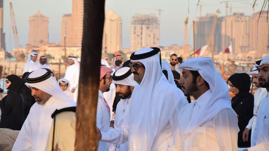 Katar Königsvater Dhow festival