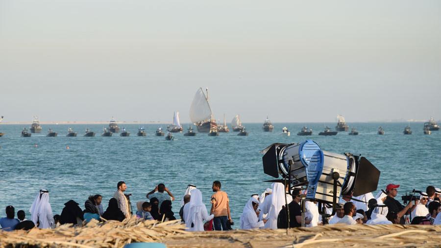 Polizeitbootregatta Katara Dhow Festival