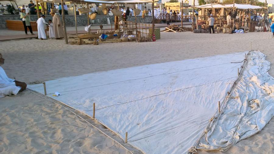 Dhow Segel Katar Dhow Festival