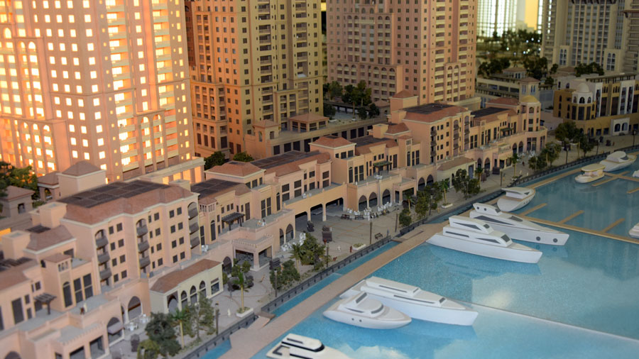 The Pearl Modell Oyster Building Katar