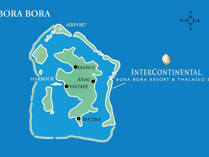 ▷ Bilder von Hotel InterContinental Bora Bora Resort and ...