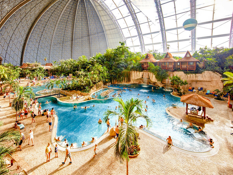 Brandenburg, Tropical Islands vom 2021-10-07 bis 2021-10-08 für 58 EUR p.P.
